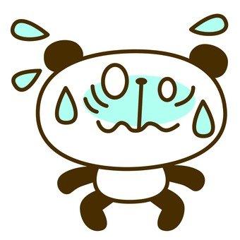 Panda cold sweat