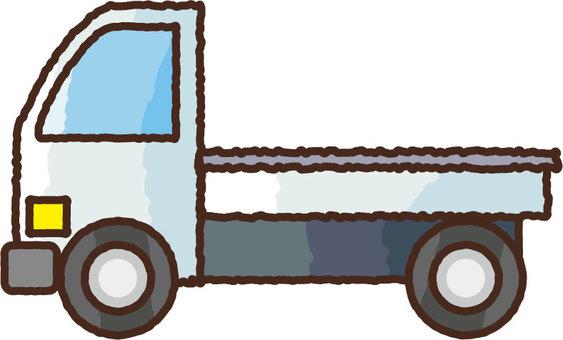 Hand-drawn light truck