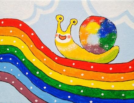 Put a rainbow on