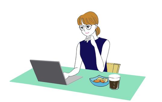Online drinking women black beer