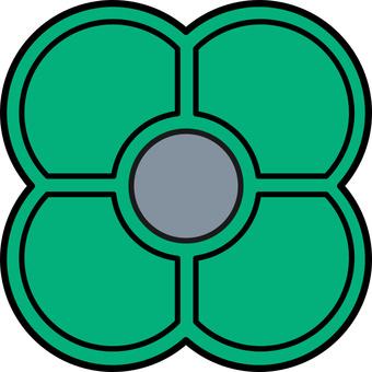 Hajiki Green(適用於每個與色覺兼容的屏幕)