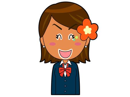 Smile _ Kogal高中女生A_ 002