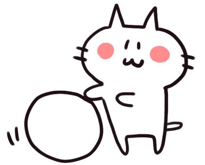 Snow Ball Corocoro Nyanko