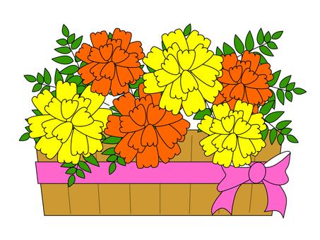 Marigold ~ Bouquet ・ Flower gift
