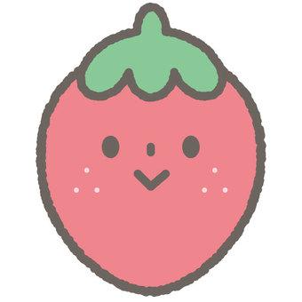 Cute fruit fruit strawberries