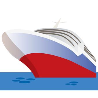 Luxury passenger ship 2