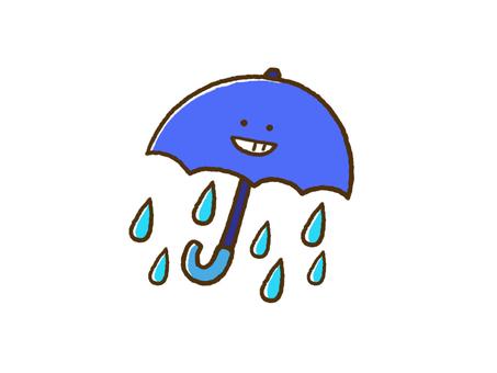 (Weather) rain