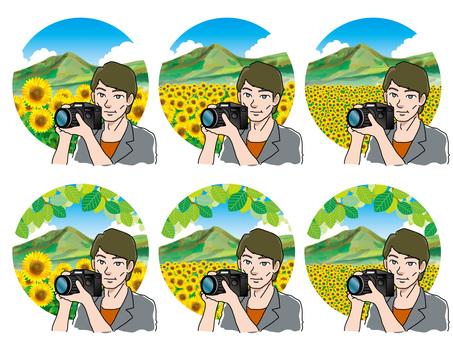 向日葵摘要(29)山和照相機人