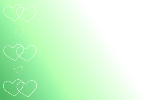 Background material · ring heart (green)
