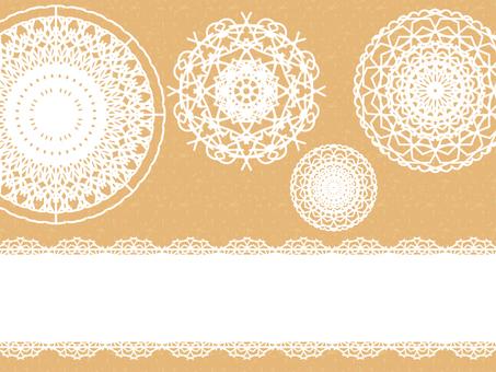 Lace pattern A