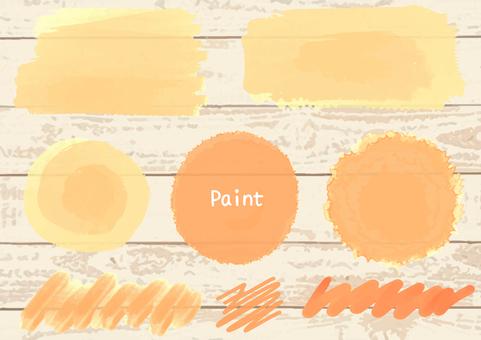 Filled parts (Orange)