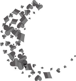 Heart frame icon illustration