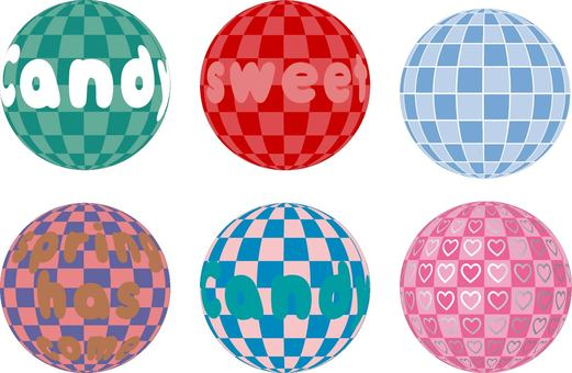 A round ball