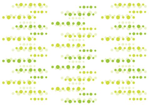 Heartwarming dot green