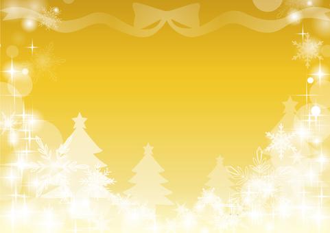 金の背景クリスマス
