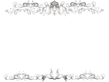 銀色的框架