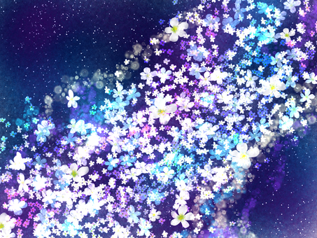 Flower Milky Way