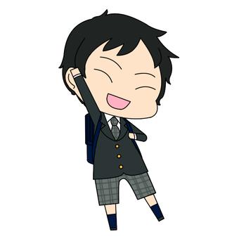 Elementary school boy _ 02