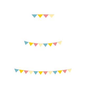 Garland ◆ pastel