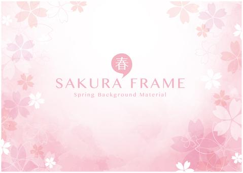 桜背景04