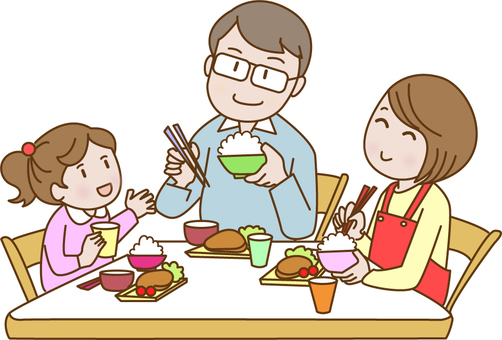 Dining with family