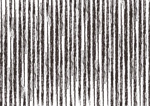黒色ラフなストライプ柄のシンプル背景