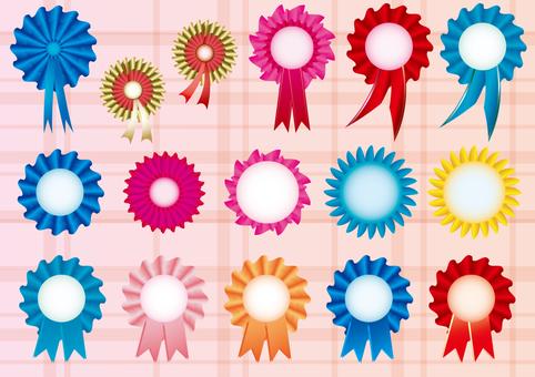 Rosette _ Ribbon Medal Set