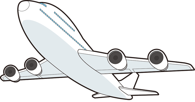Jumbo airliner