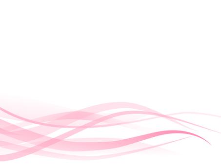 Background wave Pink