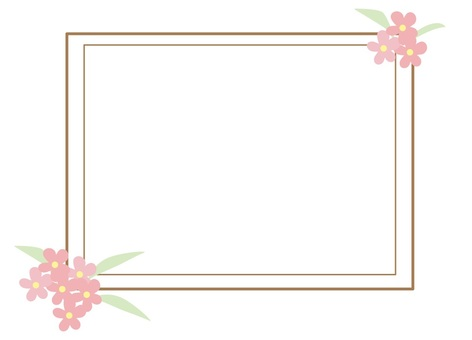 Flowers and frame 11