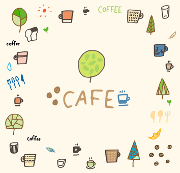 Cafe _ material set 04