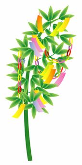 Star Festival decoration of Tanabata