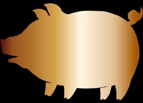 Pork (bronze) 1
