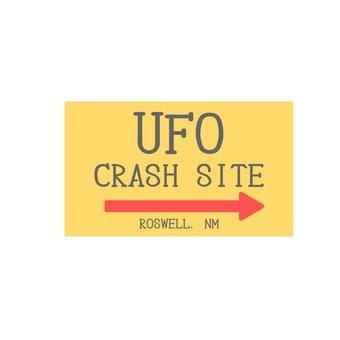 標識(UFO墜落現場)