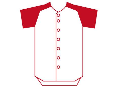 Baseball uniform jersey 2