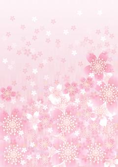 さくらの花&ピンク矢羽11