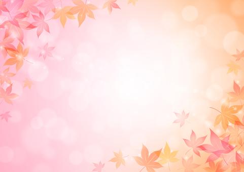 秋のふんわり背景