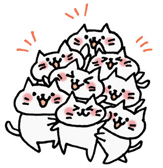 Lots of cats