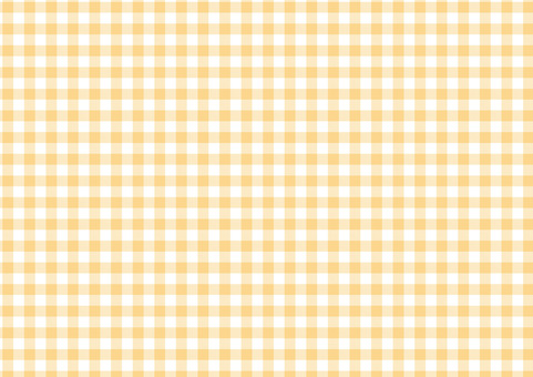 Gingham <pastel orange>