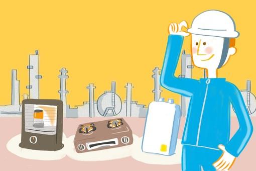 修理、検査、整備の工場で働く人