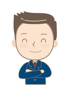 Company employee 012