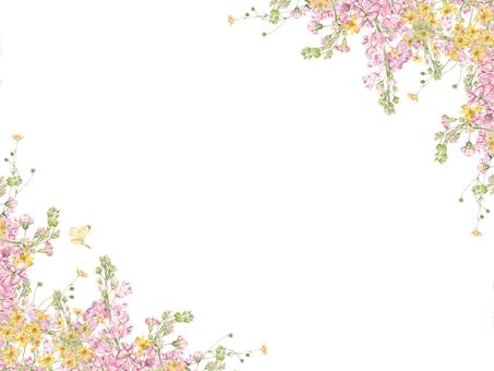 Flower frame 168 - Flower frame of hook type stock