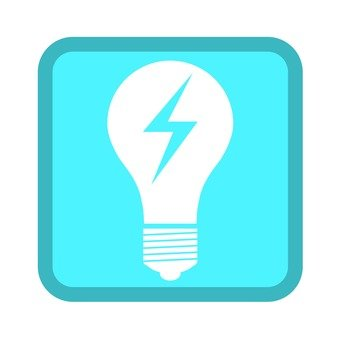Light bulb mark