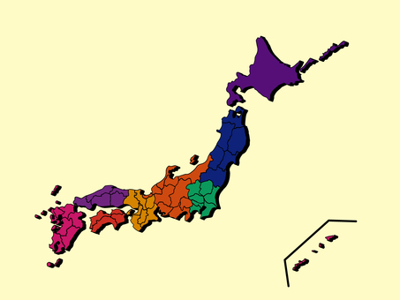 Japan Map 04