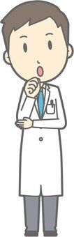 Young doctor - Fumifuku - whole body