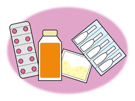 Medicine medicine tablet suppository