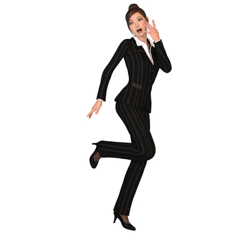 Pants suit woman 06