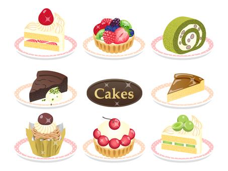 8 kinds of cake