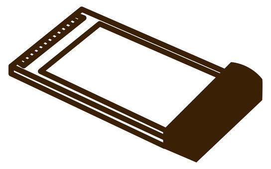 Wireless LAN handset PC card