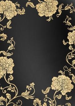 중국 風牡丹 꽃 무늬